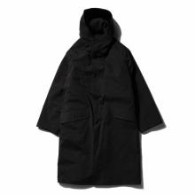 COMOLI / コモリ | フーデッドコート - Black