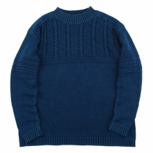 Porter Classic / ポータークラシック | FISHERMAN KNIT 2018 - Blue