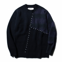 ....... RESEARCH | Frankenstein Sweater - Navy