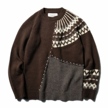 ....... RESEARCH | Frankenstein Sweater - Brown