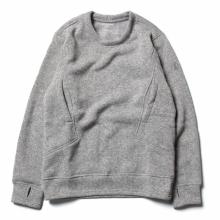 tilak / ティラック | Sage wooly Sweatshirts - LightGrey Melange