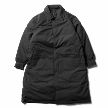 Porter Classic / ポータークラシック | WEATHER DOWN COAT - Black