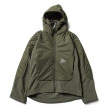 and wander / アンドワンダー | top fleece jacket - Khaki