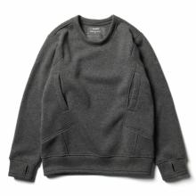 tilak / ティラック | Sage wooly Sweatshirts - AshGrey