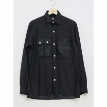 ....... RESEARCH | Phishing Shirt - Mesh - Black