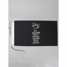 ....... RESEARCH | DEMO GOODS 051 - A.M. Flag - Black