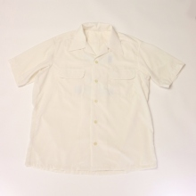 ....... RESEARCH | Open Collar S/S - HITM - White