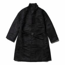 RANDT / アールアンドティー | RANDT - Studio Coat - Polyester Faux Suede - Black