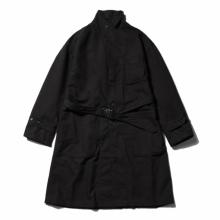 RANDT / アールアンドティー | RANDT - Studio Coat - Wool Acrylic Serge - Black