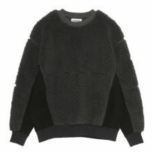 C.E / シーイー | BOA FLEECE CREW NECK - Charcoal