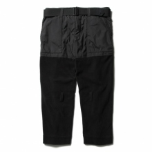 ....... RESEARCH | Mountaineer's Trousers - フリース - Black