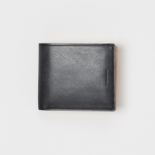 Hender Scheme / エンダースキーマ | half folded wallet - Black