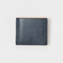 Hender Scheme / エンダースキーマ | half folded wallet - Navy