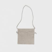 Hender Scheme / エンダースキーマ   red cross bag small - Lighit Gray