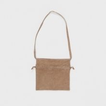 Hender Scheme / エンダースキーマ   red cross bag small - Beige