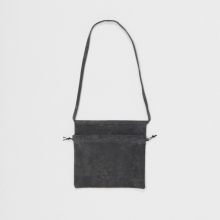 Hender Scheme / エンダースキーマ   red cross bag small - Dark Gray