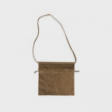 Hender Scheme / エンダースキーマ   red cross bag small - Khaki