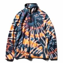 STUSSY / ステューシー | Tie Dye Polar Fleece Mock - Multi