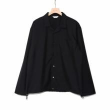 WELLDER / ウェルダー | Drawstring Shirt - Dark Navy