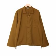 WELLDER / ウェルダー | Drawstring Shirt - Khaki