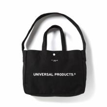 UNIVERSAL PRODUCTS / ユニバーサルプロダクツ | NEWS BAG SMALL - Black