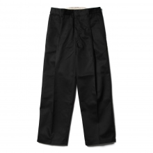 NEON SIGN / ネオンサイン | WIDE WORK SLACKS - Black