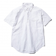 ENGINEERED GARMENTS / エンジニアドガーメンツ | Pop Over BD Shirt - Solid Cotton Oxford - White