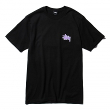 STUSSY / ステューシー | Checkers Tee - Black