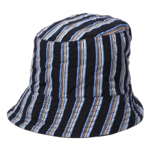 ENGINEERED GARMENTS / エンジニアドガーメンツ | Bucket Hat - Regent St. - Black / Blue