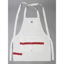 ....... RESEARCH | SASSAFRAS Grower's Apron - White