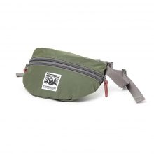 Mt.RAINIER DESIGN / マウントレイニアデザイン | ORIGINAL TWO ZIP POUCH - Olive