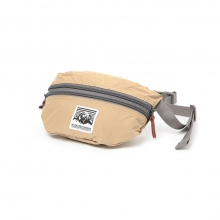 Mt.RAINIER DESIGN / マウントレイニアデザイン | ORIGINAL TWO ZIP POUCH - Khaki