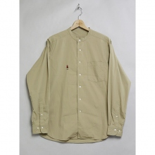 ....... RESEARCH | MAO Shirt - ビッグシャツ - Beige