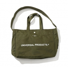 UNIVERSAL PRODUCTS / ユニバーサルプロダクツ | NEWS BAG SMALL - Olive