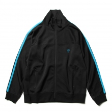 South2 West8 / サウスツーウエストエイト | Trainer Jacket - Poly Smooth - Black
