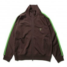 Trainer Jacket - Poly Smooth - Dk.Brown