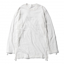 ....... RESEARCH | Walker Long Tee - White ☆