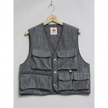....... RESEARCH | Terry Fishing Vest - Gray