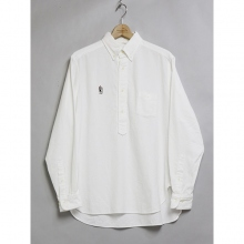 ....... RESEARCH | B.D. Pullover / 無撚糸 - レーニン - White