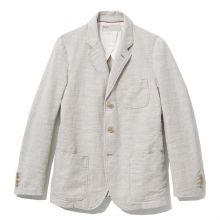 NAISSANCE / ネサーンス|COTTON LINEN JACKET - Ivory