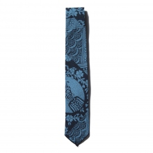 ENGINEERED GARMENTS / エンジニアドガーメンツ | Neck Tie - Ethnic Print - Blue / Navy