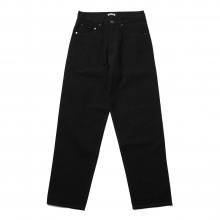 AURALEE / オーラリー | HARD TWIST DENIM WIDE PANTS - Black