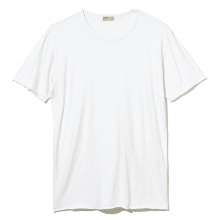 NAISSANCE / ネサーンス | COTTON SILK T-SHIRT - White