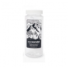 and wander / アンドワンダー | and wander nalgene bottle - Gray