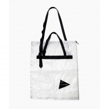 and wander / アンドワンダー | cuben fiber stuffsack large - White