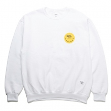 BEDWIN / ベドウィン | L/S C-NECK SWEAT 「LOU」 - White