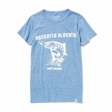 and wander / アンドワンダー | mosquito blocker T - Blue