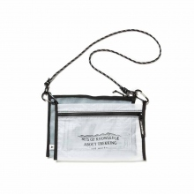 and wander / アンドワンダー | twin pouch set - White
