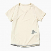 and wander / アンドワンダー | dry jersey raglan short sleeve T - Off White