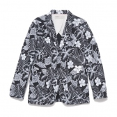 NAISSANCE / ネサーンス|ORIGINAL ALOHA PRINT JACKET - Black